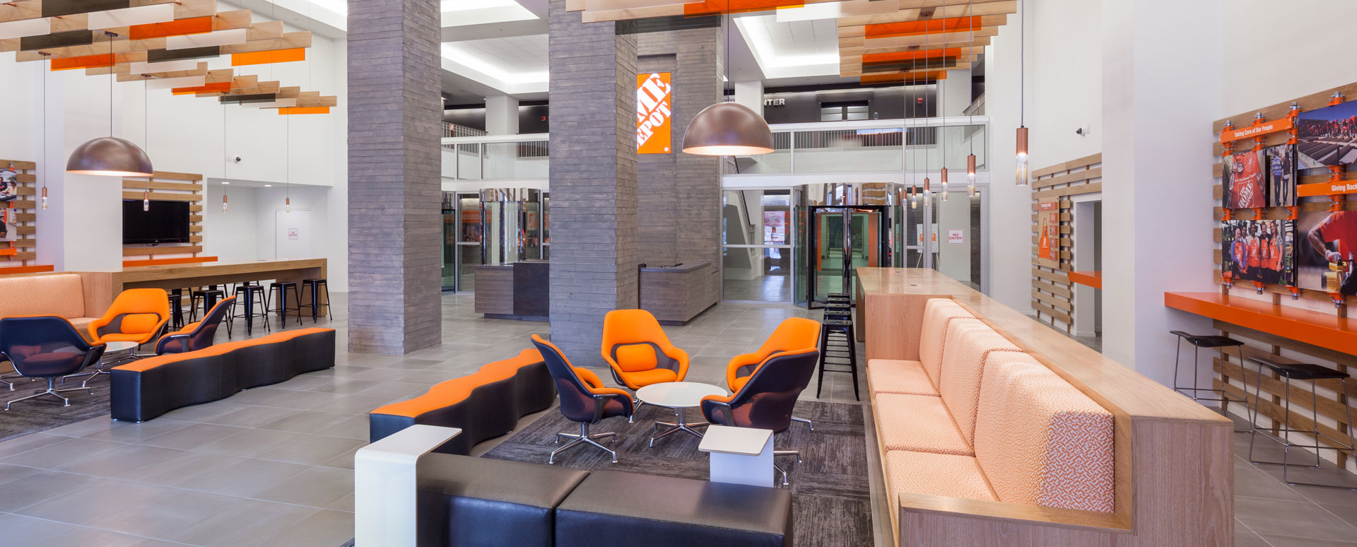 Home Depot Lobby Renovation 2