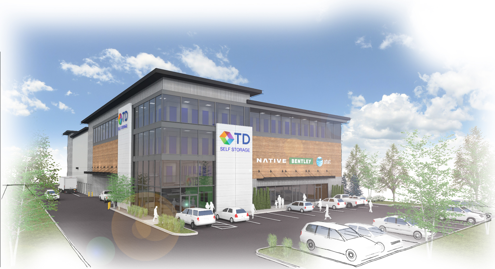 Greenville #2 Property-TD Self Storage