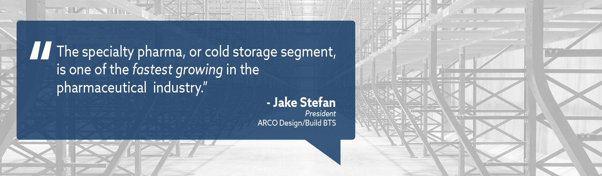 Cold Storage Construction Trends: Jake Stefan Featured in GCCA Cold Facts Magazine 1
