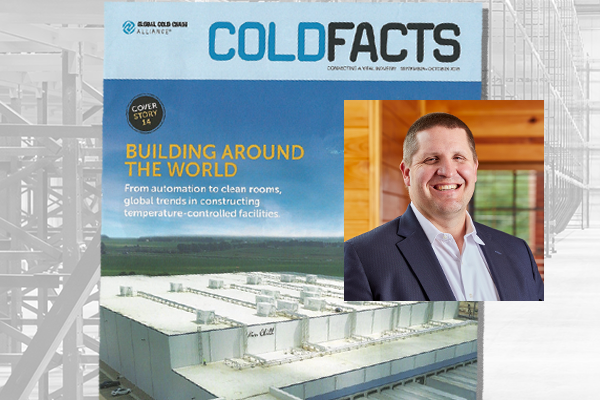 Cold Storage Construction Trends: Jake Stefan Featured in GCCA Cold Facts Magazine