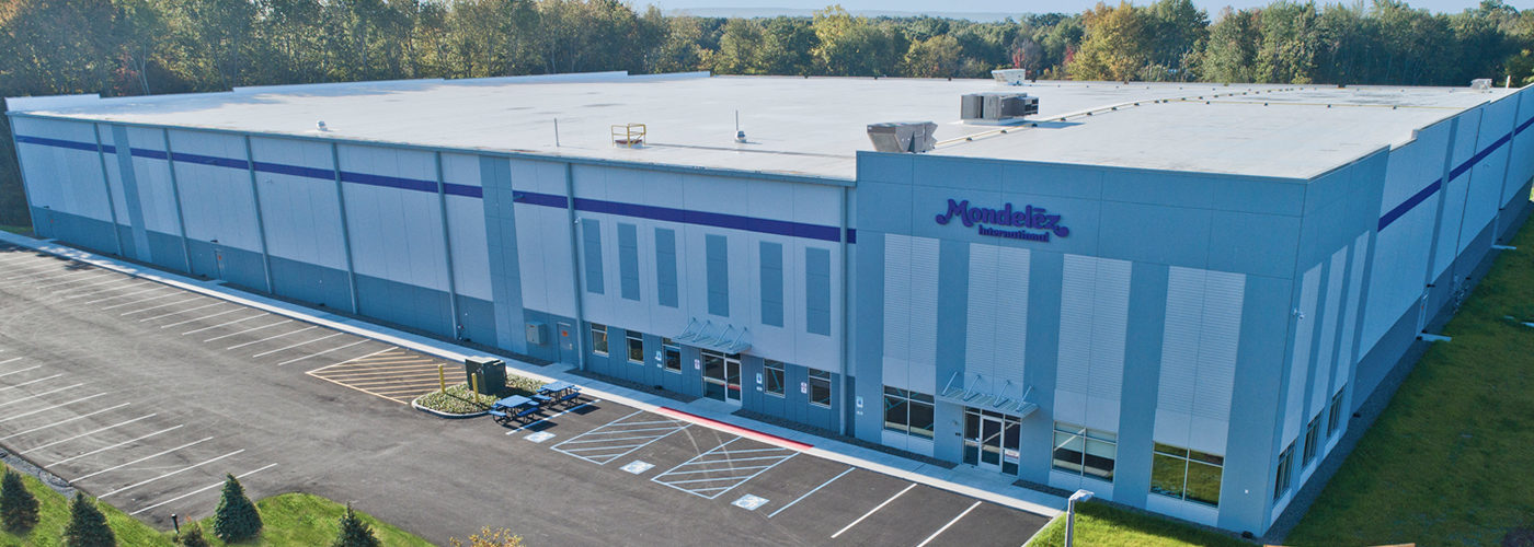 Recently Completed: Mondelez Distribution Facility - Montgomery, NY