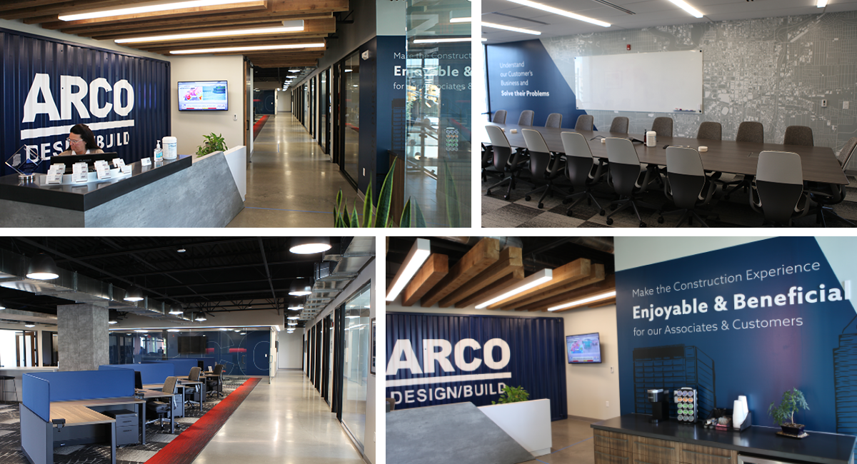 ARCO Design/Build Indianapolis' Continued Market Growth Necessitates New Office Expansion 5