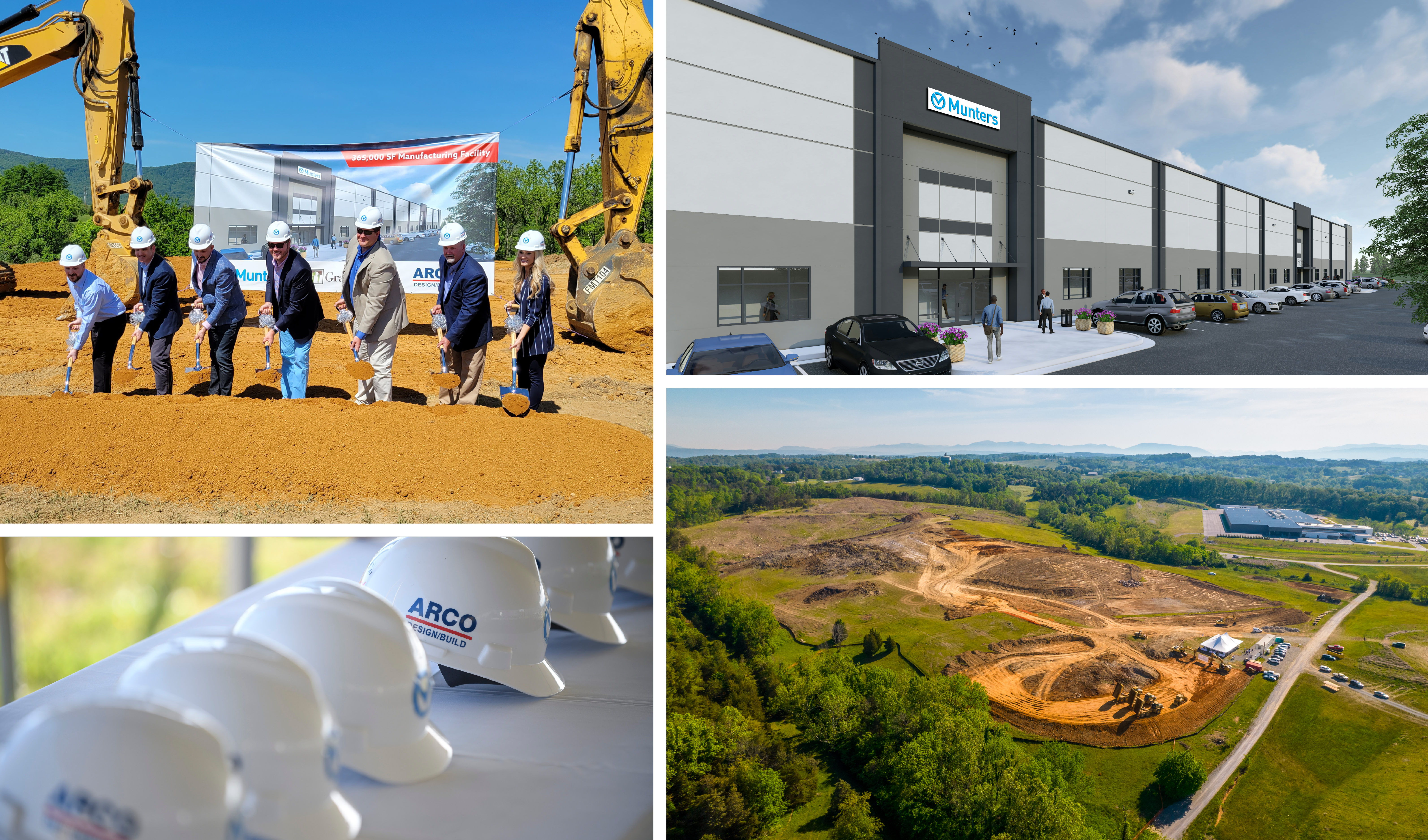 Munters Breaks Ground on New 365,000 SF Manufacturing Facility in Botetourt County, Virginia 9